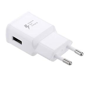 ieftine Mufă de încărcare-Încărcător Portabil Încărcător USB Priză US / Priză EU QC 2.0 / Încarcator Rapid 1 Port USB 2 A pentru