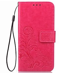 ieftine Carcase iPad-Maska Pentru OPPO Portofel / Titluar Card / Cu Stand Mată Greu PU piele