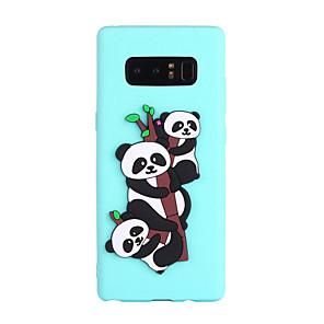 povoljno Zidni ukrasi-Θήκη Za Samsung Galaxy Note 8 Uzorak Stražnja maska Panda Mekano TPU