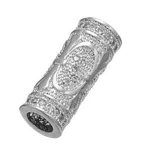 ieftine Kit-uri de Bijuterii-DIY bijuterii 1 buc Χάντρες Diamante Artificiale Aliaj Auriu Argintiu Cilindru Şirag de mărgele 0.5 cm DIY Coliere Brățări