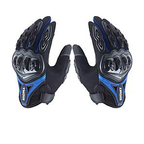 povoljno Motociklističke rukavice-muške rukavice s mikrovlakana teško koljenica vodootporan prozračan powersports motocikl sve-prst rukavica zaslon osjetljiv na dodir