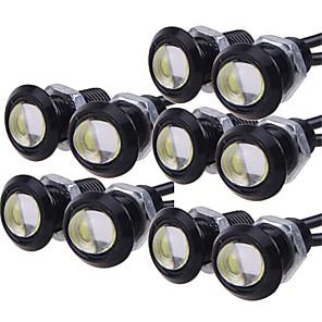 povoljno Maske/futrole za Nokiju-10pcs Žarulje 9W LED visokih performansi 1 Dnevna svjetla For Univerzális General Motors Sve godine