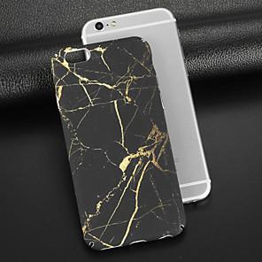 ieftine Broșe-Maska Pentru Apple iPhone X / iPhone 8 Plus / iPhone 8 Mătuit / Model Capac Spate Marmură Greu PC
