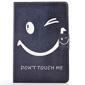 ieftine Carcase iPad-Maska Pentru Apple iPad Mini 3/2/1 / iPad Mini 4 Titluar Card / Cu Stand / Model Carcasă Telefon Cuvânt / expresie Greu PU piele