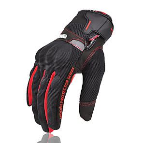 ieftine Unelte Camping-Madbike Deget Întreg Unisex Mănuși Motociclete Fibră nylon Respirabilitate / Purtabil / Anti-Alunecare