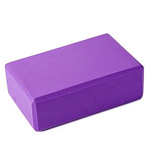 ieftine Becuri De Mașină LED-Bloc de yoga 1 pcs 23*15*7.5 cm Densitate mare Rezistent la umezeala Ușor Rezistent la mirosuri Spumă EVA Antrenament forță Poze Suport și Adâncime Ajutător Echilibru și Flexibilitate Pentru Pilates