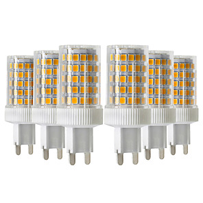 ieftine Becuri LED Bi-pin-ywxlight® 6pcs 10w 900-1000lm g9 led bi-pini lumini 86led 2835smd de înaltă calitate ceramică dimmable condus bec bec ac 220-240v