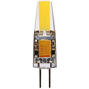 ieftine Becuri LED Bi-pin-SENCART 1 buc 4 W Becuri LED Bi-pin 400-450 lm G4 T 1 LED-uri de margele COB Decorativ Alb Cald Alb Rece 12 V