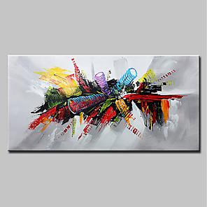 povoljno Bojano-ručno oslikano platno apstraktno pop art moderno platno spremno za objesiti
