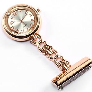 Χαμηλού Κόστους Γυναικεία ρολόγια-Γυναικεία Για Ζευγάρια Ρολόι Τσέπης Ρολόι Κολιέ Νοσοκόμα ρολόι Χαλαζίας Ασημί / Χρυσό / Rose Καθημερινό Ρολόι Αναλογικό κυρίες Πολυτέλεια Μοντέρνα - Χρυσό Ασημί Τριανταφυλλί