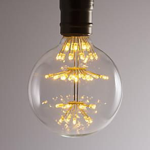 ieftine Lumini de Bicicletă-BRELONG® 1 buc 2.5 W Bulb LED Glob 300 lm E26 / E27 47 LED-uri de margele SMD Decorativ Alb Cald 220-240 V