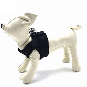 ieftine Câini Articole şi Îngrijire-Pisici Câine Hamuri Respirabil Ajustabile / Retractabil Mată Plasă Nailon Rosu Albastru Roz