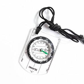 ieftine Role Pescuit-Compas Busolă Mărime Mică Măsură Plastic Alpinism Exerciții exterior Πεζοπορία 1 pcs Transparent