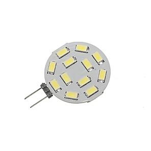 ieftine Becuri LED Bi-pin-SENCART 1 buc 5 W Becuri LED Bi-pin 360 lm G4 T 12 LED-uri de margele SMD 5730 Decorativ Alb Cald Alb Rece 12-24 V