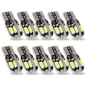 ieftine Becuri De Mașină LED-SENCART 10pcs T10 Mașină Becuri 3 W SMD 5630 240 lm 8 LED Lumini de interior Pentru Motoare generale Toți Anii