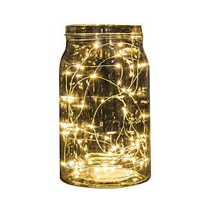 economico Strisce LED-2 m luci stringa 20 LED multi colore festa vacanza natale decorazione della batteria