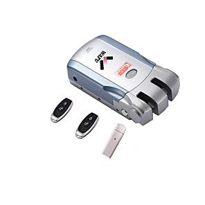 WAFU WF-010U Intelligent Lås Smart hjemme sikkerhet iOS / Android System APP låse opp / Fjernkontrollen låser opp / Lavt batteri påminnelse Husholdning / Hjem / Hjem / kontor Sikkerhetsdør / Wooden
