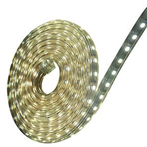 ieftine Benzi Lumină LED-zdm ac220v 6m 360buc 5050 smd 12mm led single core exterior impermeabil flexibil bandă de frânge bandă ușoară eu eu 220v