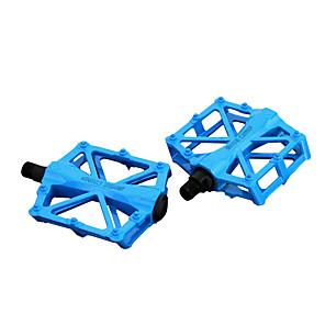 ieftine Ghidon & Mânere & Suport-Pedale Drept & Platformă Ciclism Durabil Ușor de Instalat Fibra de carbon pentru Ciclism Bicicletă șosea Bicicletă montană BMX Rosu