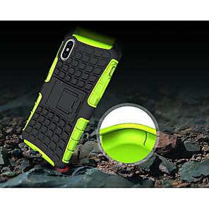 ieftine Imbracaminte & Accesorii Căței-Maska Pentru Apple iPhone X / iPhone 8 Plus / iPhone 8 Anti Șoc / Cu Stand Capac Spate armură Moale TPU