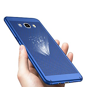 abordables Coques / Etuis pour Galaxy Série J-Coque Pour Samsung Galaxy J7 (2017) / J7 (2016) / J7 Ultrafine Coque Couleur Pleine Dur Plastique