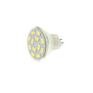 ieftine Spoturi LED-SENCART 1 buc 6 W Spoturi LED 360 lm MR11 MR11 12 LED-uri de margele SMD 5730 Decorativ Alb Cald Alb Rece 12-24 V