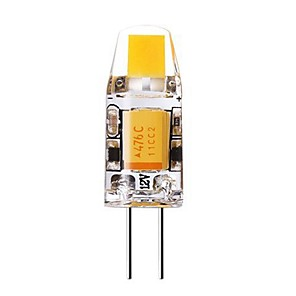ieftine Becuri De Mașină LED-SENCART 1 buc 1 W Becuri LED Bi-pin 240-280 lm G4 T 1 LED-uri de margele COB Decorativ Alb Cald Alb Rece 12 V