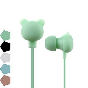 ieftine Căști-Bear100 Cablu de intrare în ureche Σύρμα Nul Telefon mobil