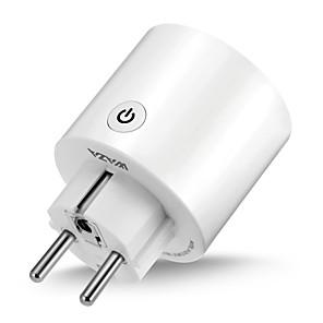povoljno Sigurnosni senzori-waza smart plug (eu) mini utičnica kompatibilna s amazon alexa i google asistentom, wifi pametnom utičnicom s mogućnošću daljinskog upravljanja s funkcijom timera, bez potrebe za hubom