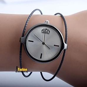 ieftine Colier la Modă-Pentru femei Pentru cupluri Ceas Casual Ceas La Modă Quartz Argint Ceas Casual Analog femei Casual Modă - Negru Argintiu Trandafiriu