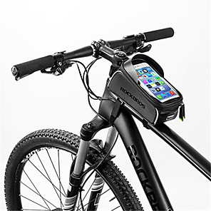 ieftine Genți Bicicletă-Telefon mobil Bag 6 inch Ecran tactil Reflexiv Impermeabil Ciclism pentru iPhone 8/7/6S/6 iPhone X Samsung Galaxy S8+ / Note 8 Negru Ciclism / Bicicletă / iPhone XR / iPhone XS / iPhone XS Max