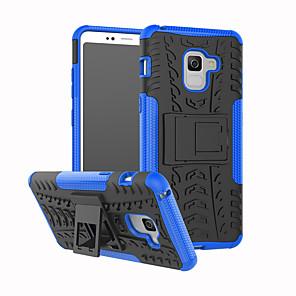 hesapli Galaxy A Serisi Kılıfları / Kapaklar-Pouzdro Uyumluluk Samsung Galaxy A3 (2017) / A5 (2017) / A7 (2017) Şoka Dayanıklı / Satandlı Arka Kapak Zırh Sert PC