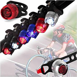 ieftine Lumini de Bicicletă-LED Lumini de Bicicletă Iluminat Bicicletă Față Becul farurilor Ciclism montan Bicicletă Ciclism Rezistent la apă Moduri multiple Portabil Ușor Li-ion 350 lm Alb Camping / Cățărare / Speologie Ciclism