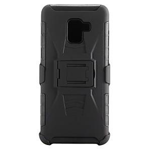 Недорогие Чехлы и кейсы для Galaxy S3-Кейс для Назначение SSamsung Galaxy A8 2018 / A8+ 2018 Защита от удара Чехол броня Твердый ПК