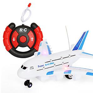 ieftine Vehicule din Jucărie-Toy Airplanes Avion Temă Clasică Telecomandă Model nou Simulare Plastic & Metal Pentru copii Unisex Jucarii Cadou 1 pcs / Interacțiunea părinte-copil