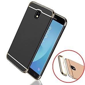 abordables Coques / Etuis pour Galaxy Série J-Coque Pour Samsung Galaxy J7 (2017) / J7 (2016) / J7 Antichoc / Plaqué Coque Couleur Pleine Dur PC