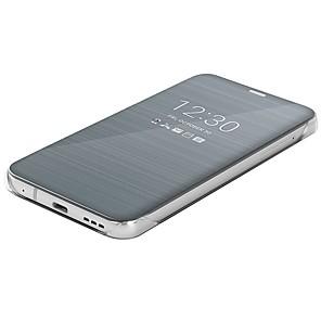ieftine Accesorii Fitness-Maska Pentru LG LG G6 Oglindă / Întoarce / Ultra subțire Carcasă Telefon Mată Greu PU piele