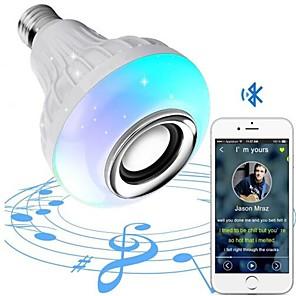 ieftine Spoturi LED-E27 Conector Bec Bluetooth Conector Bec Pentru