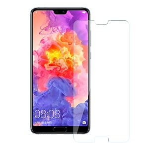 cheap Huawei Screen Protectors-Screen Protector for Huawei Huawei P20 Tempered Glass 1 pc Front Screen Protector 9H Hardness / Scratch Proof