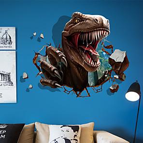 ieftine Acțibilde de Decorațiuni-Animale / #D Perete Postituri Animal Stickers de perete Autocolante de Perete Decorative, Vinil Pagina de decorare de perete Decal Perete / Geam Decor 1 buc / Detașabil / Re-poziționabil