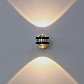 ieftine Abajure Perete-Modern/Contemporan Pentru Metal Lumina de perete 90-240V 2W