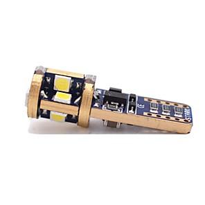 ieftine Becuri De Mașină LED-1 Bucată T10 Mașină Becuri 6 W SMD 3020 480 lm 12 LED Lumini exterioare Pentru Παγκόσμιο Toate Modele Toți Anii