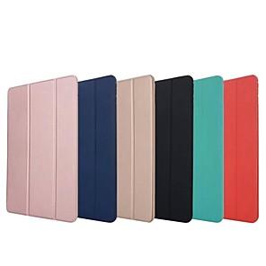 ieftine Tastaturi iPad-Maska Pentru Apple iPad Mini 5 / iPad nou de aer (2019) / iPad Air Origami Carcasă Telefon Mată Greu Silicon