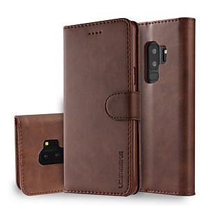 povoljno Samsung oprema-Θήκη Za Samsung Galaxy S9 / S9 Plus / S8 Plus Novčanik / Utor za kartice / sa stalkom Korice Jednobojni Tvrdo PU koža