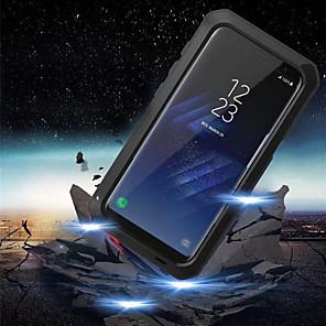 Недорогие Чехол Samsung-Кейс для Назначение SSamsung Galaxy S9 / S9 Plus / S8 Plus Защита от удара / Защита от влаги Чехол броня Твердый Металл