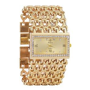 ieftine Ceasuri Damă-Pentru femei Ceas de Mână Diamond Watch ceas de aur Quartz Argint / Auriu Cronograf Ceas Casual imitație de diamant Analog Lux Atârnat - Auriu Argintiu Un an Durată de Viaţă Baterie / SSUO LR626