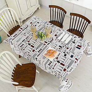 ieftine Fețe de masă-Contemporan Pătrat Fețe de masă Dungi / Geometric Decoratiuni de tabla 1 pcs