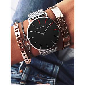 ieftine Ceasuri Brățară-Pentru femei Ceas de Mână Quartz femei Rezistent la Apă Analog Alb / Auriu Negru Auriu / Doi ani / Japoneză / Cronograf / Mare Dial / Japoneză