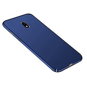 abordables Coques / Etuis pour Galaxy Série J-Coque Pour Samsung Galaxy J7 (2017) / J5 (2017) / J3 (2017) Ultrafine / Dépoli Coque Couleur Pleine Dur PC