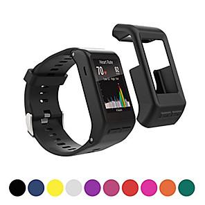 hesapli Garmin İçin Saat Kordonları-Pouzdro Uyumluluk Garmin Vivoactive HR Silika Jel Garmin